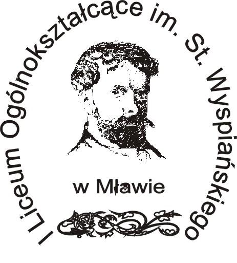 Herb - I Liceum Ogólnokształcące im.St.Wyspiańskiego w Mławie