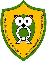 Herb - Szkoła Podstawowa im. Prezydenta RP Edwarda Raczyńskiego w Rogalinie