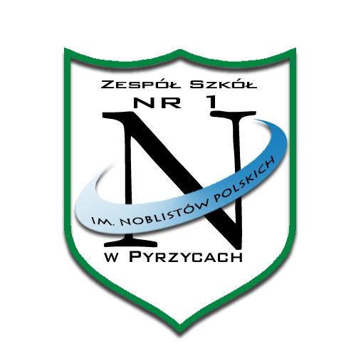 Herb - Zespół Szkół Nr 1 im. Noblistów Polskich w Pyrzycach