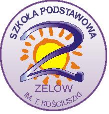 Herb - Szkoła Podstawowa nr 2 im. Tadeusza Kościuszki z oddziałami integracyjnymi w Zelowie