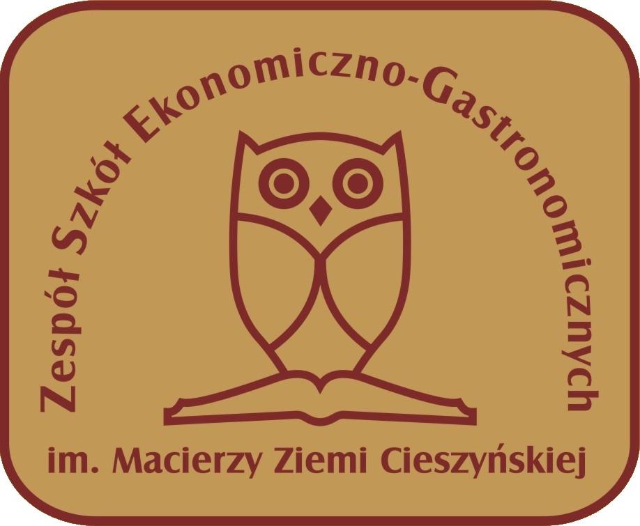 Herb - Zespół Szkół Ekonomiczno-Gastronomicznych w Cieszynie
